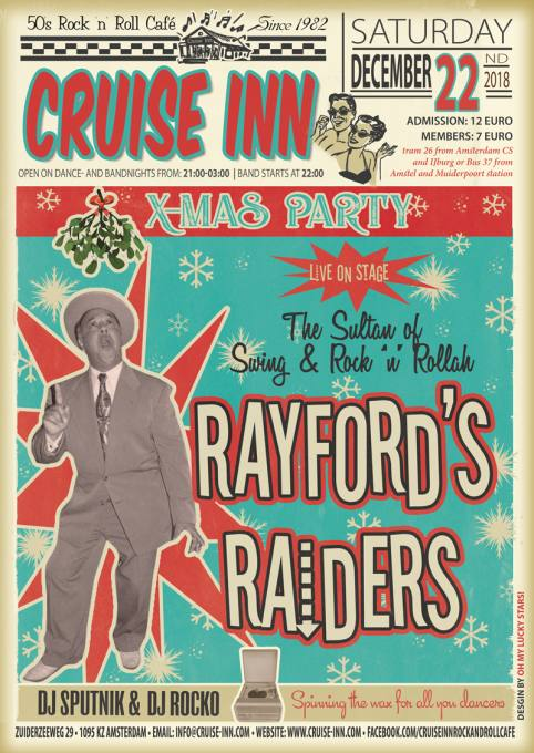 Rock & roll Christmas - Cruise Inn - Amsterdam-22 -12- 2018