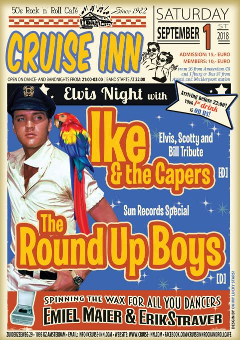 Elvis rock n roll - 01-09-2018 - Cruise Inn